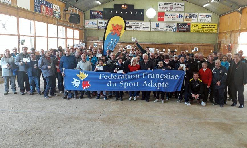 Un tournoi de pétanque handi-valide samedi à Figeac
